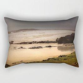 Stormy Day At Gallows Beach Rectangular Pillow