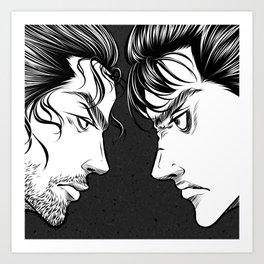 Vagabond x Berserk Art Print