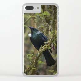 Tui Bird Clear iPhone Case