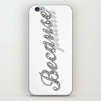 because cats iPhone & iPod Skins featuring Because by Pedlin