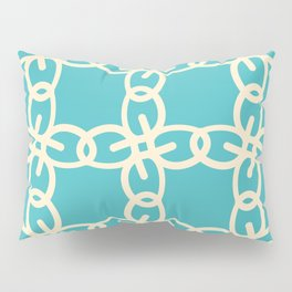 Abstract Chain Pattern Pillow Sham