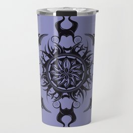 Maleficent Mandala Travel Mug