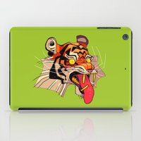 musa iPad Cases featuring tiger tiger by musa