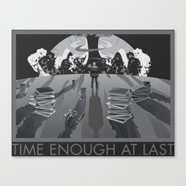 Time Enough At Last Canvas Print