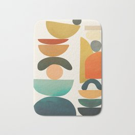 Modern Abstract Art 72 Bath Mat