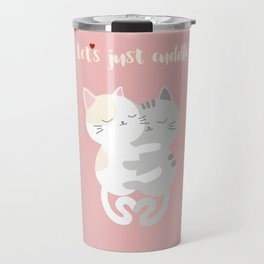 Cuddling kittens Travel Mug