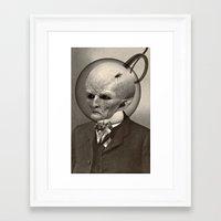 earthbound Framed Art Prints featuring EARTHBOUND MISFIT by Julia Lillard Art