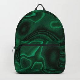 Earth treasures - patterns of malachite Backpack