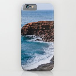 Rural coast of Lanzarote - travel photography iPhone Case
