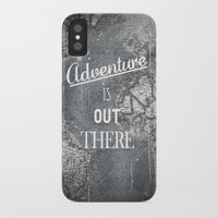 adventure is out there iPhone & iPod Cases featuring Adventure by Zach Terrell