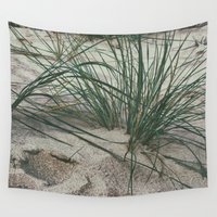grass Wall Tapestries featuring Grass by pf_photography