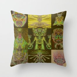 From The Seventh Sun  Throw Pillow