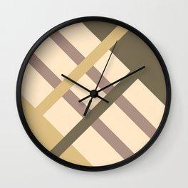 City Park - Geometrical Wall Clock