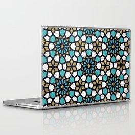 Persian Mosaic – Turquoise & Gold Palette Laptop & iPad Skin