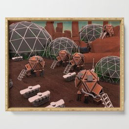 Mars base station Serving Tray