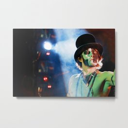 Pyrotechnic Theater Metal Print