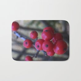 Late Winterberry Bath Mat