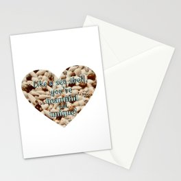 Like a Seashell, You're Beautiful & Unique! Stationery Cards
