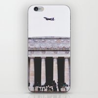lincoln iPhone & iPod Skins featuring Lincoln by Sean Horton