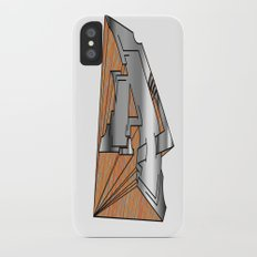 The Letter A iPhone X Slim Case