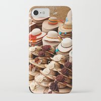 hats iPhone & iPod Cases featuring Hats by Dave Houldershaw