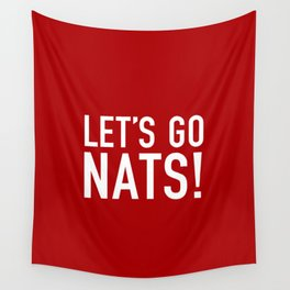 Let's Go Nats! Wall Tapestry