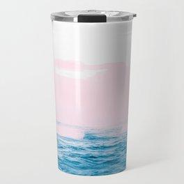 Ocean + Pink #society6 #decor #buyart Travel Mug