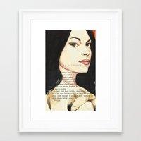 alex vause Framed Art Prints featuring Alex vause. by tantoun