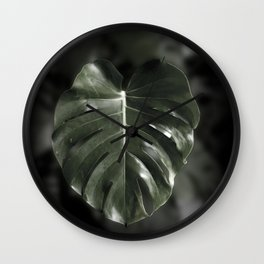 Don't leaf me Wall Clock