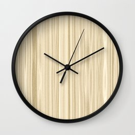 Maple Wood Surface Texture Wall Clock