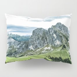 Mountain and Valley Pillow Sham