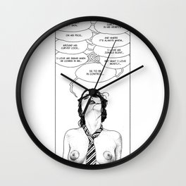 asc 709 - Les choses dites (Two or three things I love about you) Wall Clock