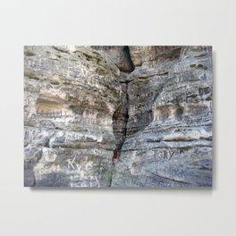 Crevice Metal Print