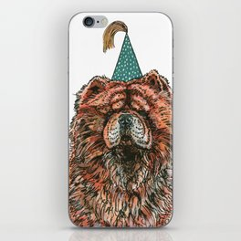 Chow Party iPhone Skin