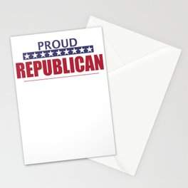 Proud Republican Stationery Cards