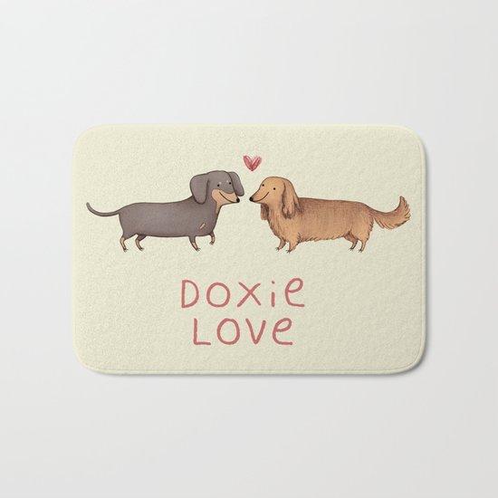Doxie Love Bath Mat
