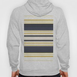 Nautical Stripes Pattern Hoody