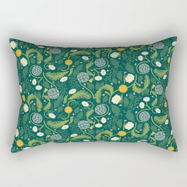 Weeds are just flowers in the wrong place Rectangular Pillow