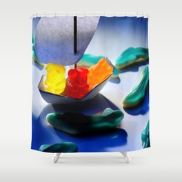 Don't rock the boat! Shower Curtain