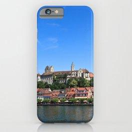 Germany Meersburg Rivers Marinas Houses Cities Pier river Berth Building iPhone Case