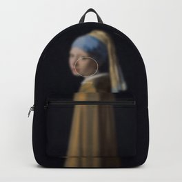 Girl with a Pearl Earring _loading. Backpack