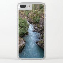 Alaska River Canyon - I Clear iPhone Case