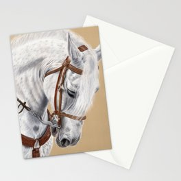 Horse Portrait 01 Stationery Cards