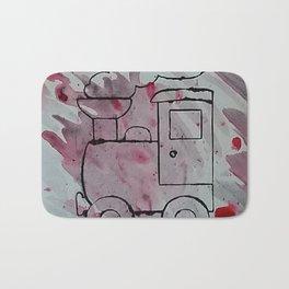 Blood train Bath Mat