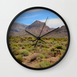 Painted Desert - II Wall Clock
