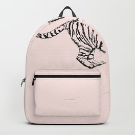 Tiger and Sun I. Backpack