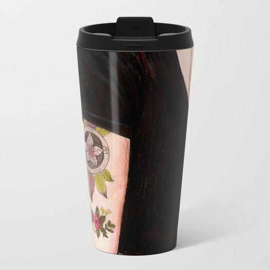 Red II Metal Travel Mug