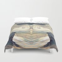 bleach Duvet Covers featuring Mystical Horse by CrismanArt