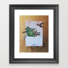 Blue Cheese Framed Art Print
