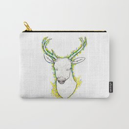 Flower Deer Carry-All Pouch